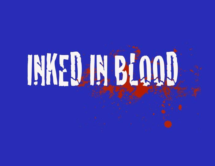 inked logo white